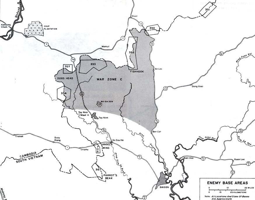 field artillery 1954 1973 chapter 6 vietnamization november 1969  map 20