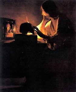 The Penitent Magdalene Georges De La Tour