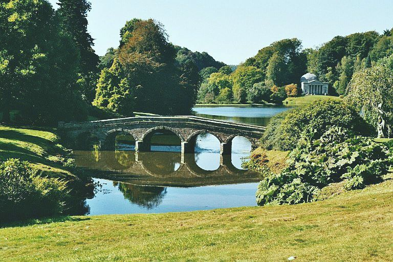 The English Landscape Garden Of The Eighteenth Century And The