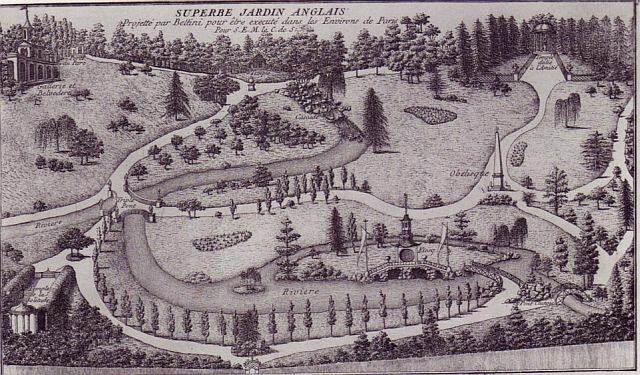 18th century english gardens for Garden design 18th century